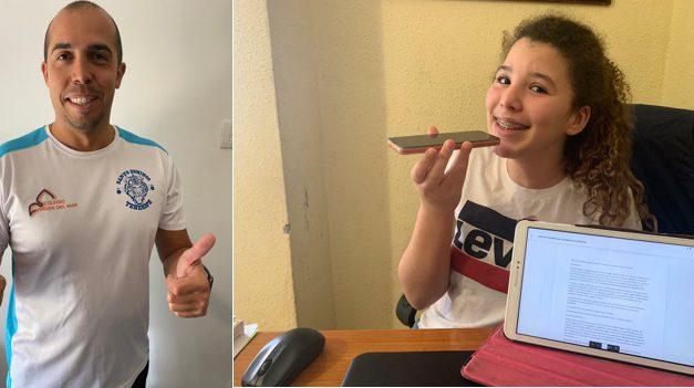 Especial Crisis Coronavirus-Deportes-Baloncesto: «#QuédateEnCasa con el basket. Noelia Perdomo entrevista a Ale Bruno, Coordinador del CB. Colegio Virgen del Mar»