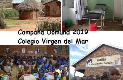 CUÑA DOMUND 2019: Realizada por los locutores Lucas Blanco, Iván Domínguez y Noelia Canino, 2º ESO-B