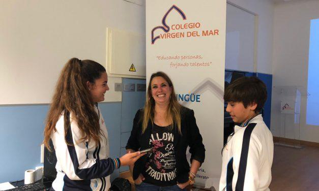 Semana Cultural Canaria: «La Periodista María Fresno habla sobre La Economía en Canarias», en «Noticias del Cole», presentado por Keyla Rodríguez y Carlos León