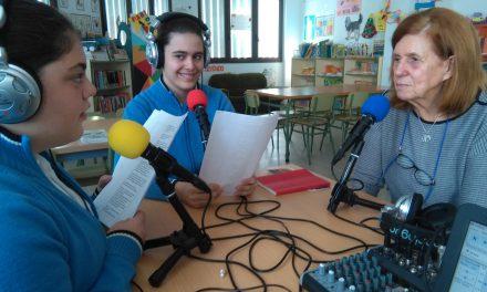 La escritora canaria, Cecilia Domínguez, entrevistada en «Personalidades», programa presentado y dirigido por Eider Gago y Jimena López