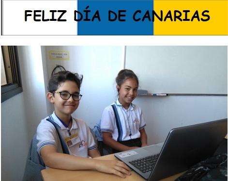 Feliz Día de Canarias: «La Leyenda de San Borondón», narrado por Victoria y Aarón, alumnos de 4º de Primaria, en «Píldoras Literarias»