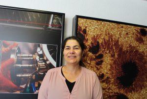 Begoña García Lorenzo, Coordinadora del Instituto de Astrofísica de Canarias, IAC, en «Reportajes», presentado por Miranda Trujillo y Alba Ramos