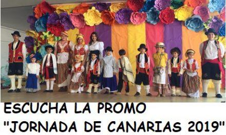 Promoción de las «Jornadas y Fiesta de Canarias 2019», realizada por los alumnos desde la asignatura de Música