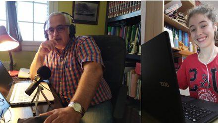 Especial Feliz Verano en la Nueva Normalidad: «Miranda Prieto entrevista a su profesor Domingo J. Jorge y nos descubre cómo es construir comunicación y hacer Radio Colegio Virgen del Mar»