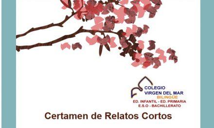 Anuncio del Certamen de Relato Corto Colegio Virgen del Mar